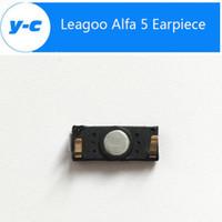 alfa accessories - New Original Leagoo Alfa Earpiece Front Ear Speaker Receiver Repair Accessories For Leagoo Alfa Mobile Phone