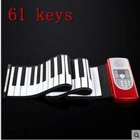 Wholesale High Quality Midi Roll Up Portable Electronic Flexible Fold Keyboard Piano Soft Keys Music