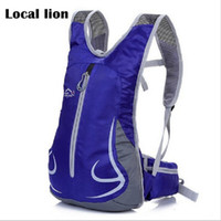 Wholesale LOCAL LION L waterproof Nylon Bicycle Backpack High Quality Travel Hiking Camping Running Backpack Fashion Sport Rucksack