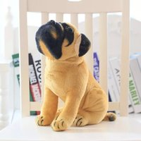 Wholesale new style cartoon The simulation plush toys Pugs dog plush toys kids toys cloth doll birthday gift drop