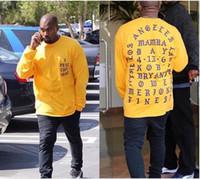 Wholesale 2016 Yeezus T Shirt I Feel Like Kobe T Shirt Men Kobe Retire Commemorative Mamba T Shirt Yeezus Hip Hop Sport Tees Tops Kanye West Clothing