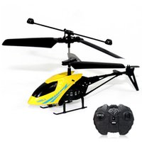 Wholesale Promotion MJ Mini Radio Control Helicopter RTF CH New Electronic Toys PK Wltoys S107G S107 Remote Control Toys