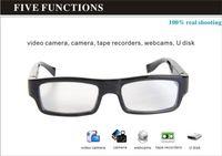 Cheap Perfect Hidden ! Undetectable Lens Spy Eyewear Glasses Camera 1280x720 HD Video Recorder Mini Sunglasses Camera Portable Candid Camera