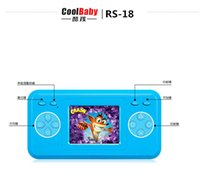 Wholesale Handheld games of children in the bit color handheld game console classic toys