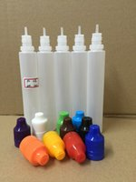 Wholesale Empty Plastic Dropper Bottle ml PE Unicorn Bottle Needle Bottle For E Liquid Vape Juice With Tamper Evident Childproof Cap In stock FEDEX