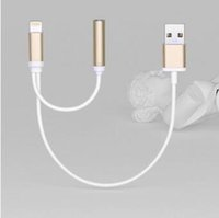 audio port extender - 3 mm Earphone Adapter Cable for Iphone Charger Extender Audio Adapter With Charging Port for iphone Audio Charger in