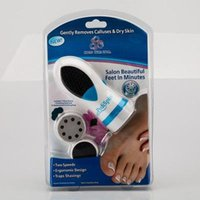 Wholesale Fashion Original Pedi Spin foot care skin remover Removes electric Calluses Dry Skin Foot Care Tools BY DHL