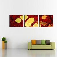 Art - Fallen Leaves Impresiones en lienzo Modern Art Wall Art Paintings Giclee Artwork for Room Decoration
