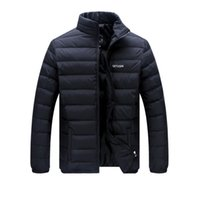 Wholesale Hot New Casual Down Men Jackets Middle Aged Man Winter Coat Long Parkas Men Winter Mens Snow Jackets