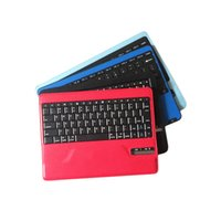 Wholesale 2016 newest colorful bluetooth Keyboard Game Mini Keyboards Wireless Multi Media Touchpad Handheld For TV BOX Android Mini PC Pad windows