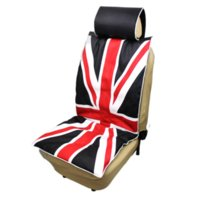 Wholesale UK British Flag Printed Car Seat Cover For Front Universal Car Van Front Heavy Duty Dustproof Protectors Auto Seat Cushion Cover