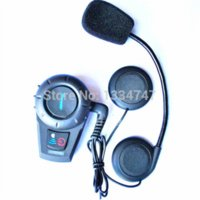 baby motorcycle helmets - 500M Intercom Motorcycle Helmet Handsfree Bluetooth Headset Wireless Communication Between Three Riders by Bluetooth System helmet baby