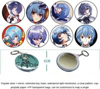 Wholesale set all kinds of Animation key chain Cartoon key ring Mirror key ring DHL