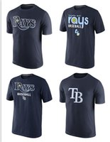 bay wear - Cheap New Authentic Men s wear Tampa Bay Rays T Shirt Mixed order