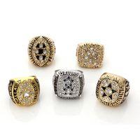 all'ingrosso dallas championship ring-Trasporto libero per 1971/1977/1992/1993/1995 replica di Dallas Cowboys Imposta Campionato Superbowl Anello 5 anni