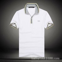 Wholesale T SHIRT Short sleeve Men t shirt Cotton t shirts Men s Clothing Top Fashion Men t shirt