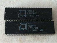 amd dual cpu - AMD P8086 dual in line pin dip package P8086 bit Vintage microprocessor old cpu IC