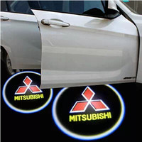 Wholesale High quality Mitsubishi Galant Lancer ASX Outlander Pajero Car door Projection light fourth generation car welcome light V