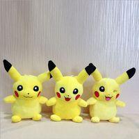 7.2 inch - 7 Inch cm Poke Pikachu Plush dolls toys EMS style children Pikachu Charmander Jeni turtle Poke Ball Plush dolls toy B001