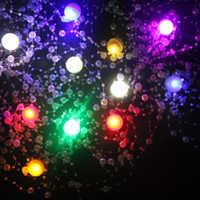 Wholesale 10pcs LED Berry Lights Fairy Glowing Berries Pearl Lamp Wedding Christmas Festival Party Decoration Fortune Balls Many Colors Available