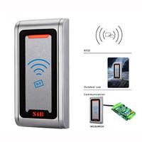 access smart tags - IP68 Waterproof WG26 RFID Access Control Proximity Card Reader KHz Slave Tag Reader F1258D