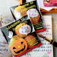 Wholesale Halloween Small Accessories Cellophane Favor Mini Bags Self Seal Party Packaging