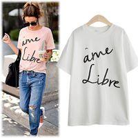 animal print foil - HL8960 New Arrival Summer T shirt Women New Fasion Women O Neck Foil Glitter Print T shirt Europe America Style Cotton T shirt Lady