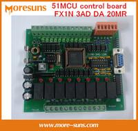 Wholesale Fast Free Ship PLC industrial control board MCU control board FX1N AD DA MR Programmable control