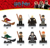 Wholesale 8pcs set blocks Harry Potter Half Blood Prince Ron Severus Snape Lord Voldemort Minifigures bricks building blocks Kids Toys Legoelieds