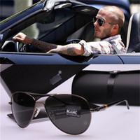 Wholesale Top Quality Polarized Sunglasses For Men Classic Retro Brand Designer Glasses Fashion Metal Hinge Sun glasses UV400 MB209