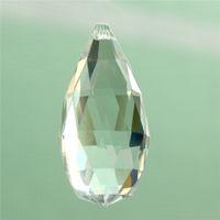 Wholesale 1pc mm Clear Crystal Glass Lamp Prisms Part Decoration Hanging Drop Pendant