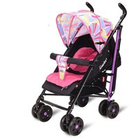 Wholesale New Light Weight Baby Stroller Sit And Lie for Newborn Folding Baby Carriage Portable Travel Colour Free Gifts
