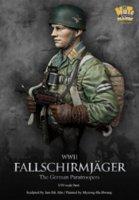Wholesale WWII German Elite Paratroopers Figure Bust Resin Models resin model painting model cartoon