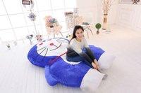 giant bean bags - 200cm X cm Lovely Huge Giant Doraemon Double Bed Carpet Tatami Mattess Sofa Bean Bag