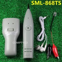 Wholesale High Quality grey Telephone Tracer Network RJ45 RJ11 Cable Tester Tracker Electric Wire Finder