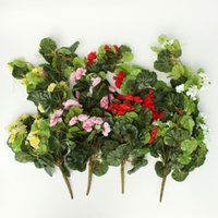 beautiful window boxes - Beautiful Design Colors Artificial Silk Trailing Geranium Flowers Hanging Decor For Basket Window Box