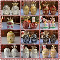 Wholesale colors European toothpick holder automatic hand carved white toothpick box toothpick holder KTV hotel home