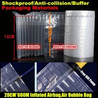 Wholesale CM M PE PA Co extrusion Film Shockproof Anti collision Buffer Inflatable Packaging Material Inflated Airbag Air Bubble Bag