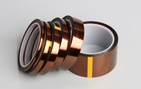 Wholesale 2 Mil Kapton Supply All Kinds Of High Heat Temperature Resistant Kapton Polyimide GBA Gold Tape Custom Sizes Are Available Upon Request