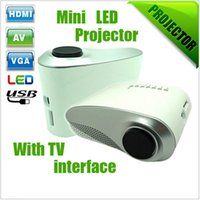 Wholesale Hot Sale RD802 cheap portable LED Mini Pocket HD Micro Pico Multimedia Video Game Projector Perfect Christmas gift projector
