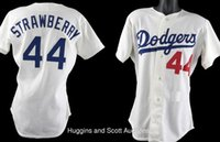 Wholesale Darryl Strawberry Los Angeles Dodgers Jersey shirts size S small xl