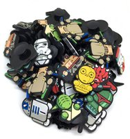 Wholesale Star Wars Q Type Cartoon Shoe Charms Fit Clog Shoe Accessories Shoe Charm Croc JBIZ Shoe Decoration