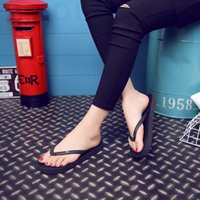 Wholesale 2016 new summer fashion lovers beach flat with men and women fawn flip flops pinch sandals manufacturers