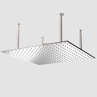 Wholesale Hot Sale And Retail Promotion Waterfall Rainfall Shower Head Bathroom Square Shower Head HM WB0024