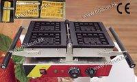 belgium waffle makers - 4pcs Commercial Use Non stick Turnable v v Electric Belgium Waffle Baker Maker Machine Iron