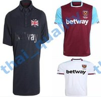 Wholesale 16 Soccer Jersey West Ham United Football Shirts CARROLL PAYET ZARATE KOUYATE Men s Top Thai Quality Short Sleeve Sports Jerseys