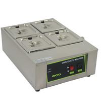 Wholesale For Commercial Use Lattice Chocolate Melting Machine Digital Chocolate Fountain Machine Chocolate Boiler