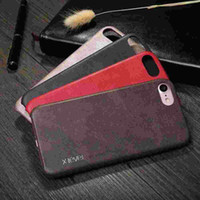 Wholesale Luxury Slim Soft Touch Vintage Protective leather Back Cover For iPhone s Plus Case