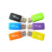 Wholesale 2016 Epacket High Speed USB Micro SD card T Flash TF M2 Memory Card Reader adapter gb gb gb gb gb gb TF Card