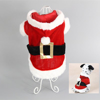 Wholesale New Puppy Dog Santa Costume Christmas Pet Clothes Hoodie Coat Easter Bunny Clothing for Dog Chihuahua Yorkshire Poodle